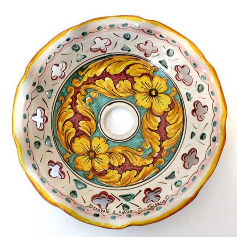 Piatti In Ceramica Per Lampadari.Dettagli Su Piatto In Ceramica Ricambio Per Lampadario 30cm Coll Giulia