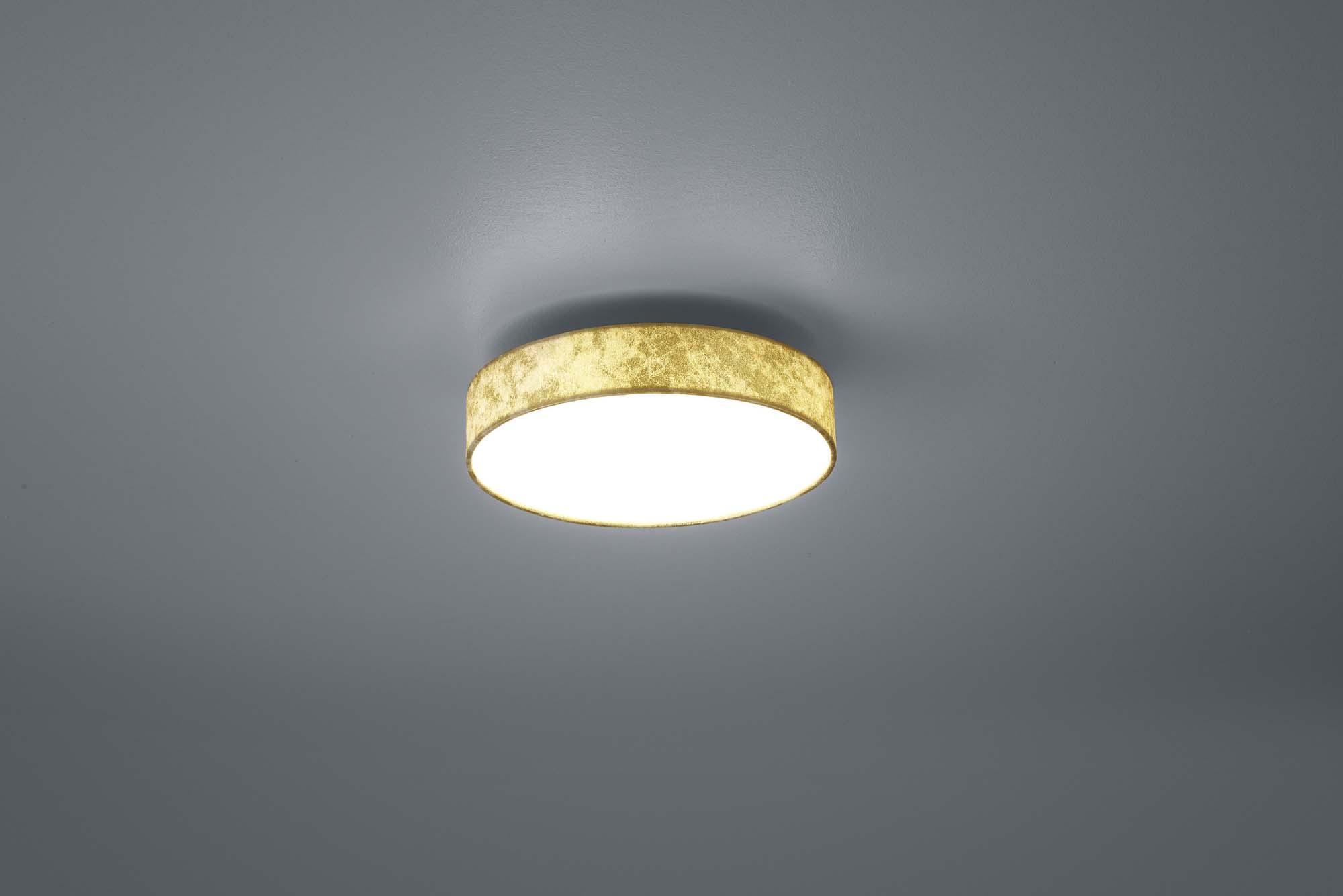 Plafoniere Moderne In Tessuto : Plafoniera moderna a led 11w in tessuto oro trio 621911279 lugano ebay